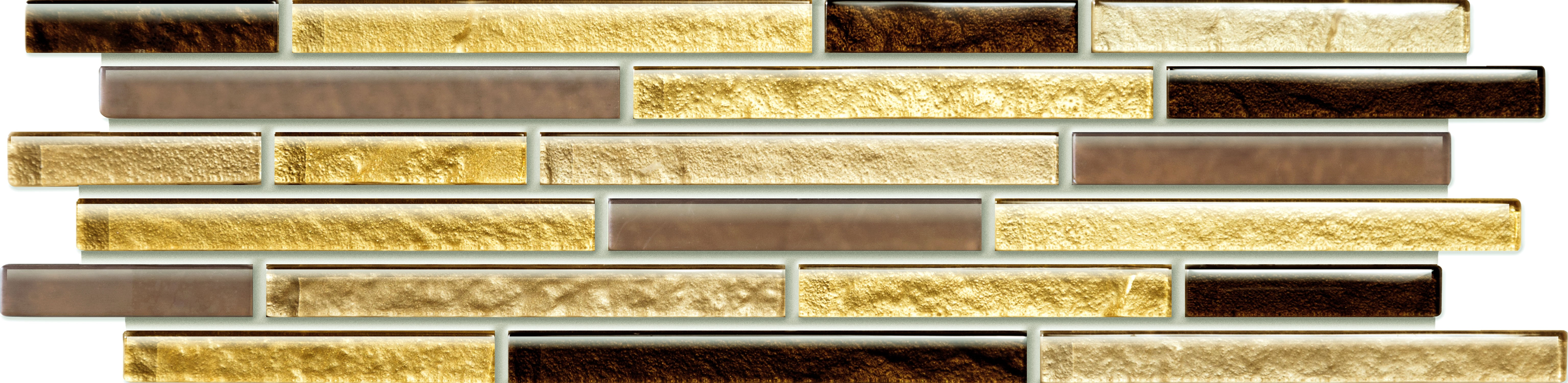 Tubadzin Venatello Brown Mosaic 372X98