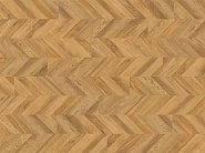 POLYFLOR, Виниловое Покрытие Polyflor Expona Commercial Wood PuR Golden Chevron Parquet 4111