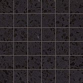 ATLAS CONCORDE, Плитка Atlas Concorde Marvel Terrazzo Black Mosaico Lappato As7T Мозаика