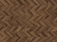 POLYFLOR, Виниловое Покрытие Polyflor Expona Commercial Wood PuR Tanned Chevron Parquet 4112